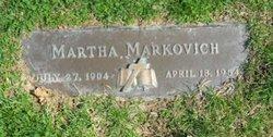 Martha <I>Kalinowski</I> Markovich