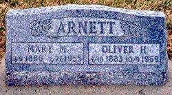 Mary Mina <I>Darnell</I> Arnett