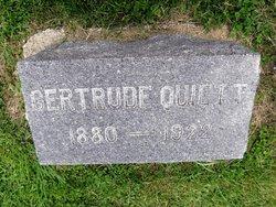 Gertrude <I>Mills</I> Quiett