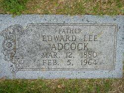 Edward Lee Adcock