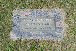 Marit Evenson