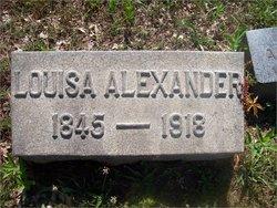 Maria Louisa <I>Glassmyer</I> Alexander