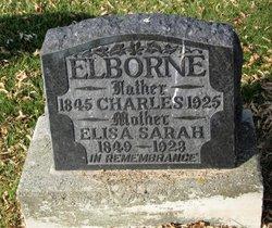 Elisa Sarah <I>Boothby</I> Elborne