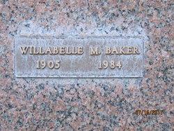 """Willabelle Mary """"Billie"""" <I>Hatch</I> Baker"""