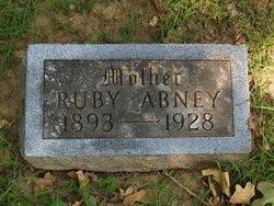 Ruby B <I>Cazzell</I> Abney