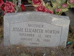 """Jessie Elizabeth """"Gammy"""" <I>Cleveland</I> Norton"""