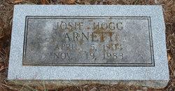 Josie <I>Hogg</I> Arnett