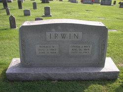 Louisa Jane <I>Witt</I> Irwin