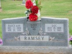 Nancy Ann <I>Buttler</I> Ramsey