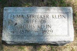 Emma <I>Stricker</I> Klein