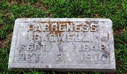 Parreness Ann <I>Prater</I> Bagwell