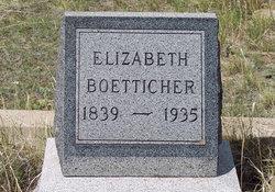 Elizabeth <I>Knippenberg</I> Boetticher