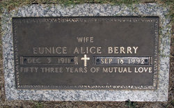 Eunice Alice Berry