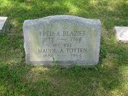 Maude A <I>Totten</I> Blazier