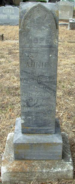 "Ursula Ann ""Annie"" <I>Chennault</I> Buster"