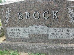 Helen Hope <I>Parker</I> Brock