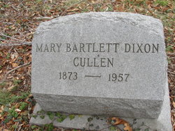Mary Bartlett <I>Dixon</I> Cullen