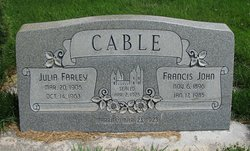 Francis John Cable
