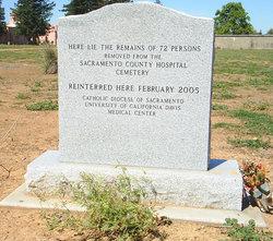 Sacramento County Hospital Cemetery