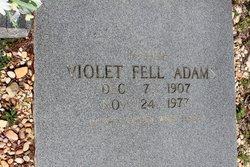 Violet <I>Fell</I> Adams