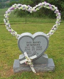 avis banks mcmahan 1952 2007 find a grave memorial. Black Bedroom Furniture Sets. Home Design Ideas
