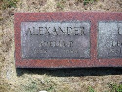 Adelia P <I>Powers</I> Alexander