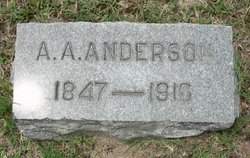 Pvt Alfred A Anderson