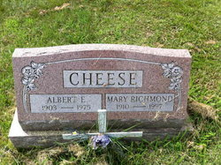 Mary <I>Richmond</I> Cheese