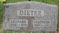 Gertrude <I>Elliott</I> Dieter