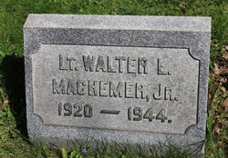 Lieut Walter L. Machemer, Jr