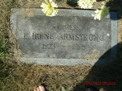 L Irene <I>Snook</I> Armstrong