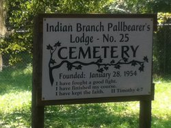 Indian Branch Pallbearers Lodge No. 25 Cemetery