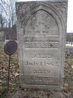 Pvt Davis K. Burr
