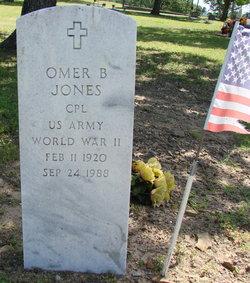 Omer B Jones