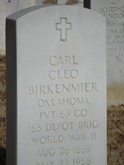Carl Cleo Birkenmeier