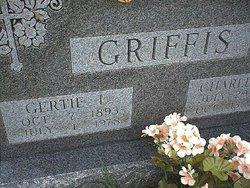 Gertie Lee <I>Stockard</I> Griffis