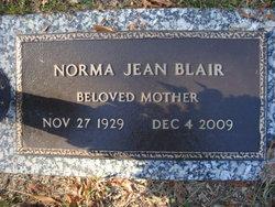 Norma Jean <I>Bolton</I> Blair