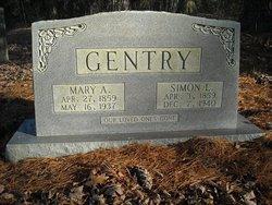 "Mary Ann ""Polly"" <I>Loftis</I> Gentry"