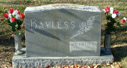 Mildred Louise <I>Powell</I> Bayless