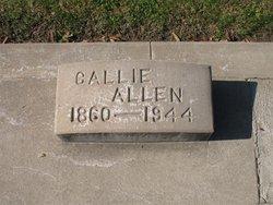 Callie <I>Highers</I> Allen