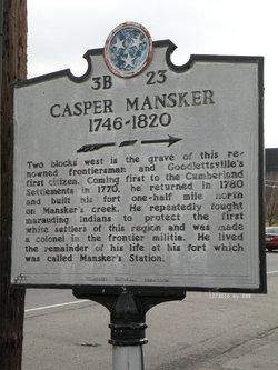 Casper Mansker Gravesite