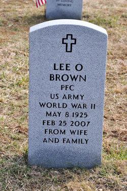 PFC Lee O. Brown