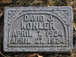 David J Kohler