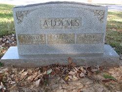 Sallie <I>Martin</I> Adams