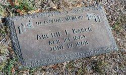 Archie Franklin Baker