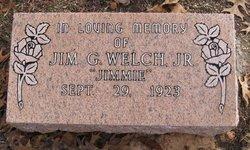 "Jimmy G ""Jimmy"" Welch, Jr"