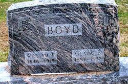 Clara B <I>Scott</I> Boyd