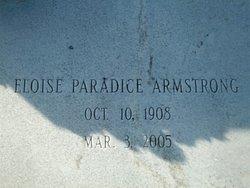 Annie Eloise <I>Paradice</I> Armstrong