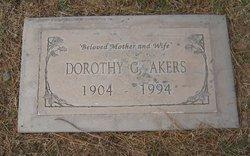 Dorothy G <I>Drew</I> Akers