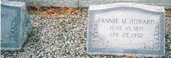 """Fannie Idora Mozell """"Fannie"""" <I>Rich</I> Howard"""